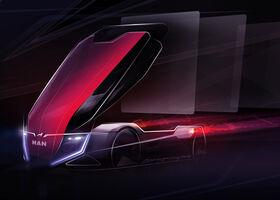 Volkswagen topman deelt schets van futuristische MAN